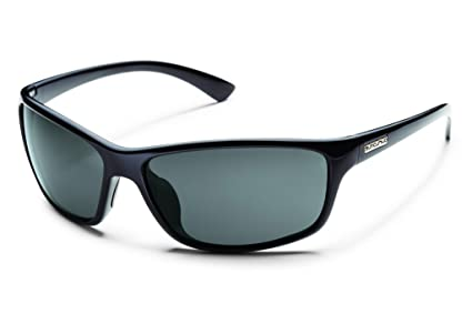 b91373f6be Amazon.com  Suncloud Sentry Polarized Sunglass (Black Frame Gray ...