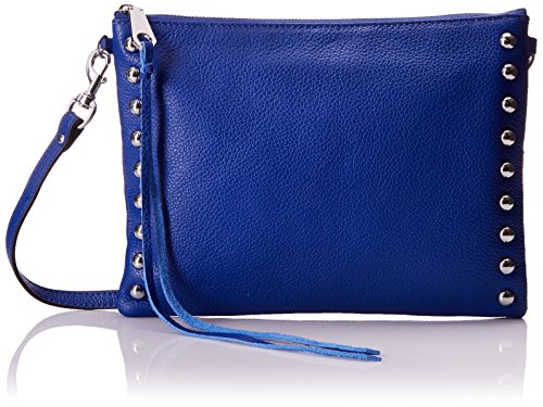 Crossbody With Studs Pouch, Cobalt, One Size ()