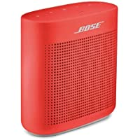 Bose SoundLink Color II Bocina Bluetooth, color rojo coral