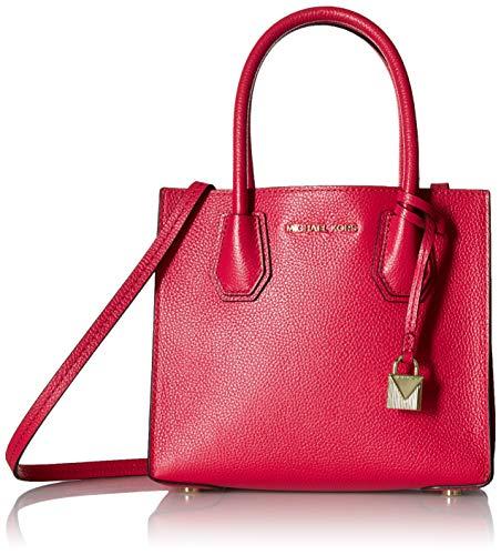 MICHAEL Michael Kors KORS STUDIO Mercer Medium Messenger Ultra Pink (Michael Kors Fashion Store)