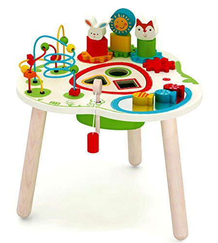 Wooden Adventure Table Activity Center (Wood Activity Table)