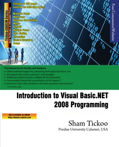 Introduction to Visual Basic.NET 2008 Programming ebook