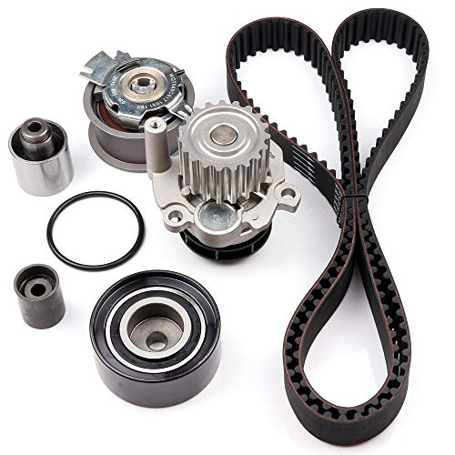 (SCITOO Timing Belt Kit Replacement for 2008-2014 Audi A3 Volkswagen Beetle Golf Jetta 2.0L)