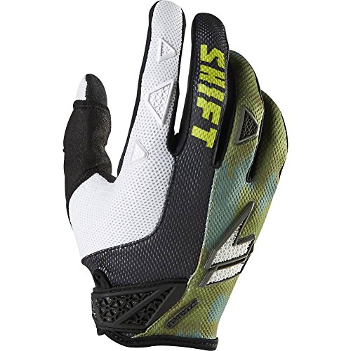 Shift Racing Strike Army Men's Dirt Bike Motorcycle Gloves - Camo / Small