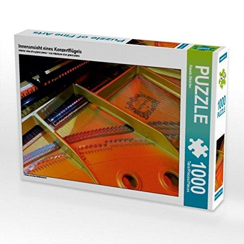 CALVENDO Puzzle Innenansicht eines Konzertflügels 1000 Teile Lege-Größe 64 x 48 cm Foto-Puzzle Bild von Renate Bleicher B01KVAE8FQ Klassische Puzzles Verkauf Online-Shop | Verkauf Online-Shop