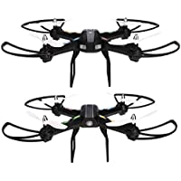 ETUOJI New 2.4GHz 4 Channels 6 Axis Gyro Eversion CF mode One Key Mini Drone RTF UFO Aircraft Automatic Return with Light RC Quadcopter