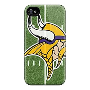 MMZ DIY PHONE CASEMialisabblake Snap On Hard Case Cover Minnesota Vikings Schedule Protector For Iphone 4/4s