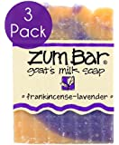 Indigo Wild: Zum Bar Goat's Milk Soap, Frankincense & Lavender 3 oz (3)