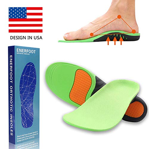 High Arch Support Insoles for Men Women Orthotic Shoe Inserts Plantar Fasciitis Inserts Super Support Shoe Inserts