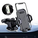 VANMASS Car Phone Mount, Dashboard Windshield Air Vent Cell...