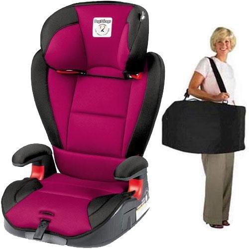 Peg Perego – VIAGGIO HBB 120 Car Seat with Carrying Case – Fleur