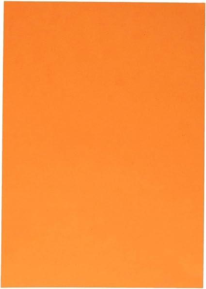 TTS - Caja de cartón para fotos, A4, color naranja claro: Amazon.es: Oficina y papelería