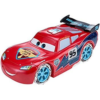 Disney/Pixar Cars Ice Racers Large Lightning McQueen Vehicle (1:24 Scale)