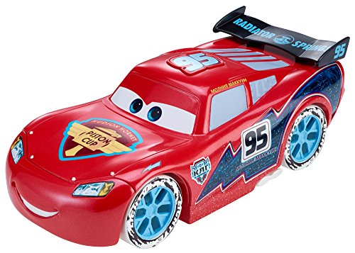 Disney/Pixar Cars Ice Racers Large Lightning McQueen Vehicle (1:24 (Disney Pixar Bolt)