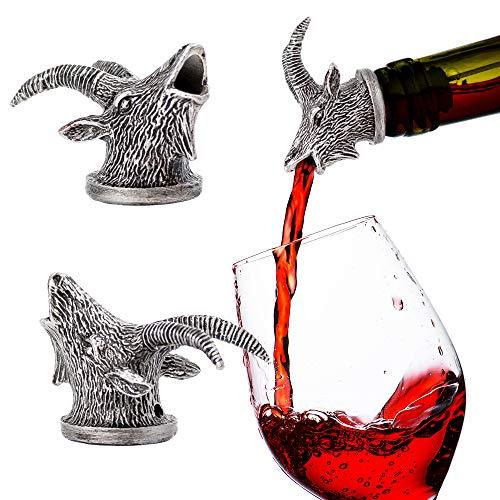 Stainless Steel Wine Aerator & Liquor Pourer (Goat)