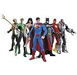 "Justice League 7-Pack Action Figure Set, Height:17cm/6.7"""