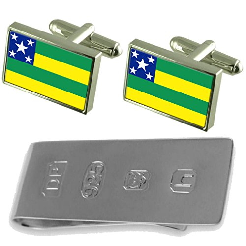 Flag Bond James James amp; Cufflinks Cufflinks Sergipe Clip amp; Money Sergipe Flag Bond xYZdvaqvwT