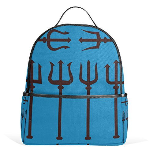 MaMacool Trident School Backpack for Boys Teen Girls primary school students Trident Travel Book