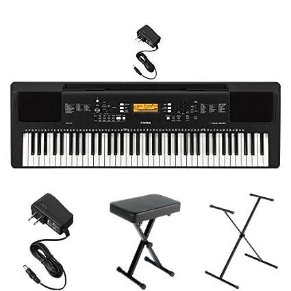 b5225723a06 Amazon.com  Yamaha PSREW300 Keyboard Bundle with Stand