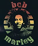 "Bob Marley ~ Micro Raschel Fleece Throw Blanket Tapestry ~ Approx 45"" X 60"""