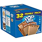 Kellogg's Pop-Tarts Frosted Toaster Pastries, Frosted Brown Sugar Cinnamon, 32 Count