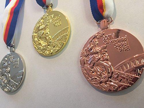 (1988 OLYMPICS Seoul SOUTH KOREA Olympic Souvenir GOLD SILVER BRONZE Medals set RARE Team USA China France Russia Canada)