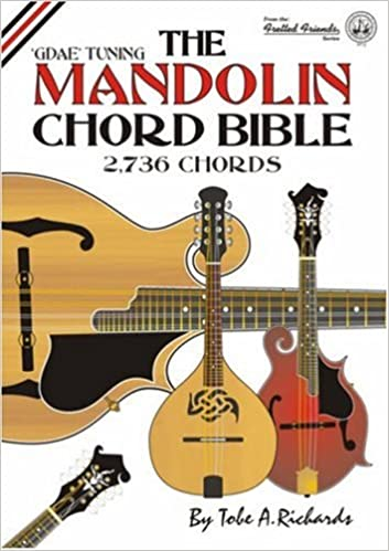 Mandolin 8 string mandolin chords : Amazon.com: The Mandolin Chord Bible: GDAE Standard Tuning 2, 736 ...
