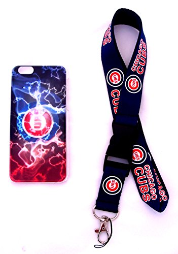 Baseball Champs iPhone 6 Quality Painted Hard Snap On Cases and Separate Lanyard (Lightning)
