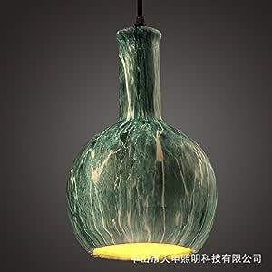 Simple, creative dining room chandelier ceramic painting,C