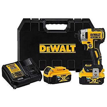 DeWalt DCF888P2BT 20V MAX XR Brushless Tool Connect Impact Driver Kit