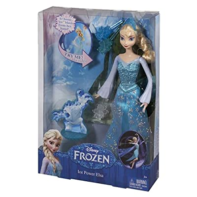 Disney Frozen Ice Power Elsa Doll: Toys & Games