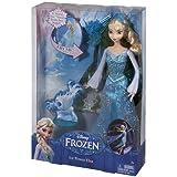 Frozen - Muñeca Elsa magia de hielo, 30 cm (Mattel CGH15)
