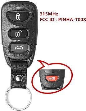 Key Fob Keyless Entry Remote fits 2010-2014 Kia Forte PINHA-T008