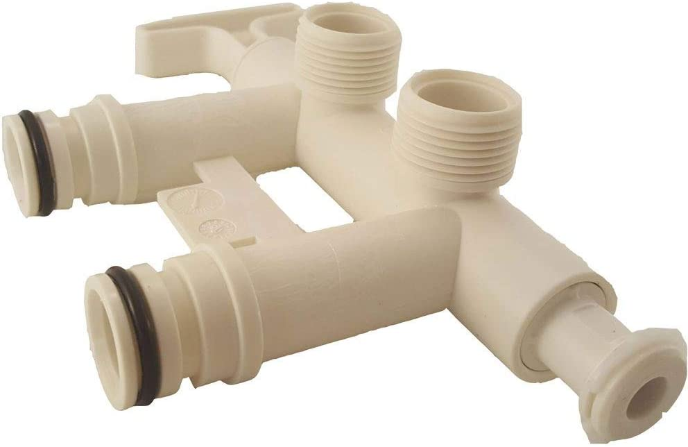 7129871 - Water Softener Bypass Valve with Threaded Adapters