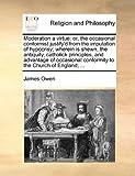 Moderation a Virtue, James Owen, 1170471315