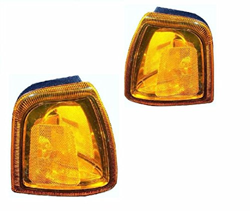 BuyRVlights Fleetwood Bounder Gas 2005 RV Motorhome Pair (Left & Right) Replacement Corner Turn Signal Light Lamp