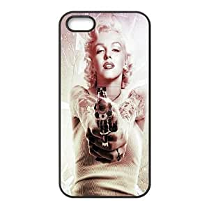 DIY Phone Case for Iphone 5,5S, Marilyn Monroe Cover Case - HL-537382