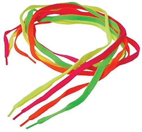 U.S. Toy Neon Shoe Laces (24 ()