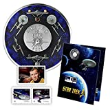 2016 25c Coloured Coin and Stamp Set - STAR TREK: ENTERPRISE Royal Canadian Mint Canada RCM
