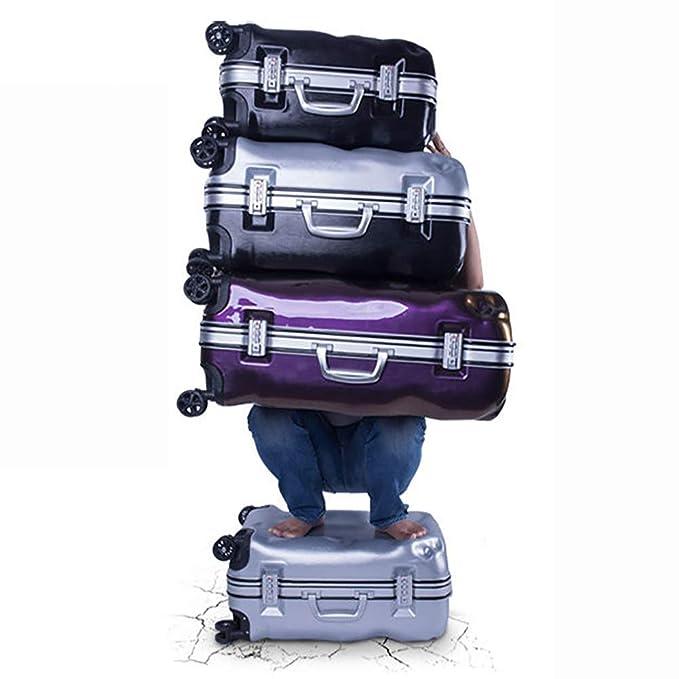 34b8e7188654 Amazon.com: MZTYX Us Personalized Suitcase Broken Shape Aluminum ...
