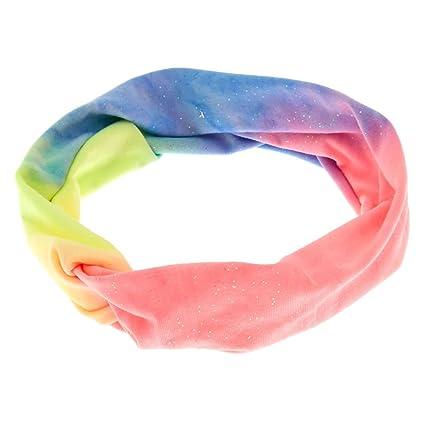 Claires Pastel Rainbow - Corbata para niña, color rosa: Amazon.es ...