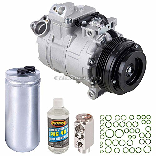 New AC Compressor & Clutch With Complete A/C Repair Kit For BMW E39 5-Series - BuyAutoParts 60-80426RK New ()