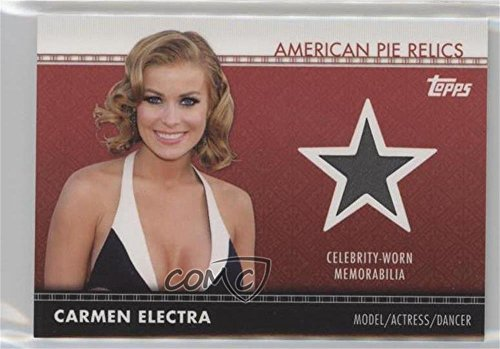 Carmen Electra (Trading Card) 2011 Topps American Pie - American Pie Relics #APR-20