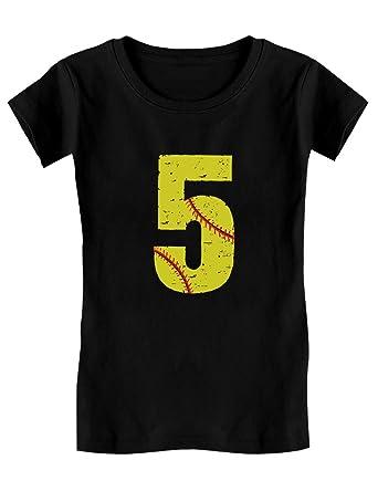 d719f63aa7ada Green Turtle T-Shirts Cadeau Anniversaire 5 Ans - Fan de Baseball T-Shirt
