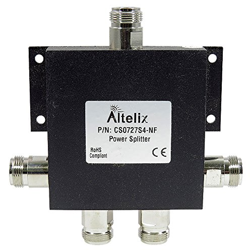 Altelix 4 Way Antenna Splitter for weBoost 50 Ohm Boosters Wideband 2G 3G 4G LTE