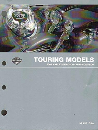 2008 Harley-Davidson Touring Models Parts Catalog, Part Number 99456-08A (Custom Motorcycle Wiring)