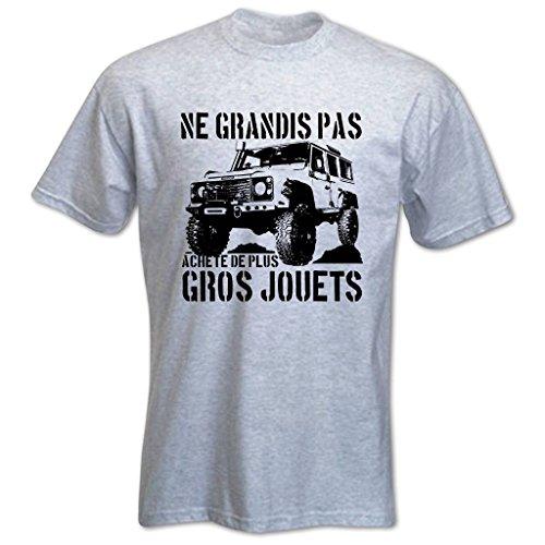 T-Shirt Homme Ne grandis pas, achète de plus gros jouets