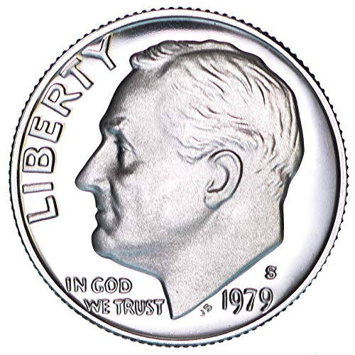 1979 S Roosevelt Dime Type 2 Clear S Gem Deep Cameo Proof