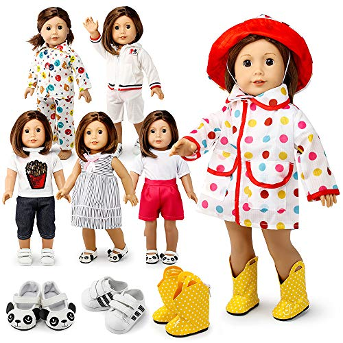"""Oct17 Doll Clothes for American Girl 18"""" inch Dolls Wardro"""