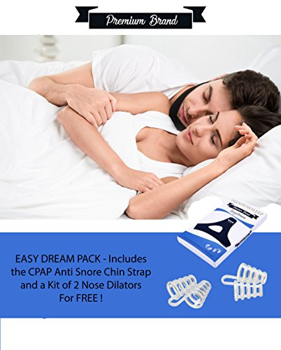 EasyDream-Anti-Snoring-Chin-Strap-Mouth-Snore-and-Kit-of-2-Nose-Vents-Adjustable-Chin-Strap-CPAP-Anti-Snore-for-Men-and-Women